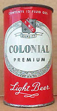 COLONIAL BEER, Flat Top Can, Hammonton, NEW JERSEY 1956 issue