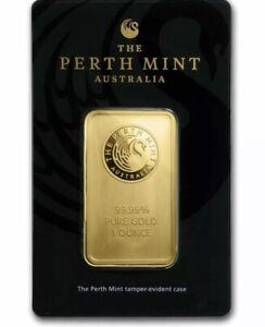 1 Oz Gold Bar - The Perth Mint