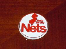 NEW JERSEY NETS Vintage Old NBA RUBBER Basketball FRIDGE MAGNET Standings Board
