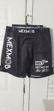 Mex Mob Mma/Grappling/Bjj Shorts Large/34