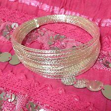 """Fashion Bollywood India Bangle Bracelet 2-3/4"""" Diameter"""