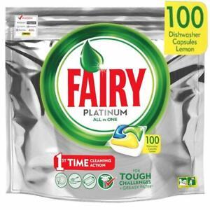 Fairy Platinum Lemon Spülmaschinentabs 100 Stück