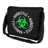 Hardstyle Biohazard Reaktor Toxic Club Hard Trance Umhängetasche Messenger Bag