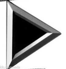 1.50ct natural black Diamond Trillion Cut Loose Diamond, Black Diamond ring 00