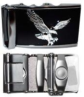 Men's belt Buckle. Automatic sliding belt buckle, landing eagle Belt buckle only