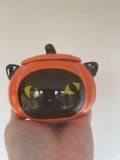 More details for starbucks halloween 2020 cat pumpkin jar mug with lid 12oz
