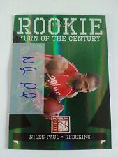 2011 Donruss Elite Niles Paul Washington Redskins Nebraska 355/499 - Auto