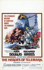 THE HEROES OF TELEMARK Movie POSTER 27x40 D Richard Harris Kirk Douglas Michael