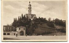 1934 Udine il castello destinazione Lido di Roma bicicletta FP B/N VG ANIM
