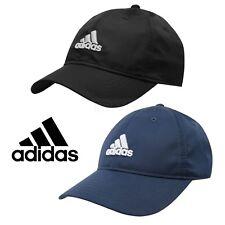 Junior Adidas Logo Cap Boys Girls Kids Hat Running Golf Baseball Black Navy