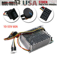 10 55v 60a 5000w Reversible Dc Motor Speed Controller Pwm Control Soft Start Us