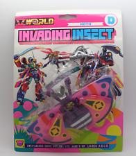 invading Insecto TRANSFORMABLE ROBOT Polilla nuevo emb. orig.
