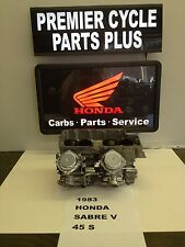 1983 HONDA SABRE V 45 S REMANUFACTURED KEIHIN CARBS CARBURETORS READY TO RUN