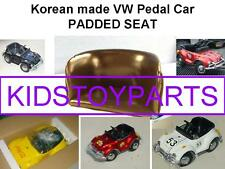 VINTAGE PADDED SEAT FOR VW VOLKSWAGEN BEETLE BUG PEDAL CAR