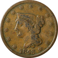 1843 Large Cent Great Deals From The Executive Coin Company