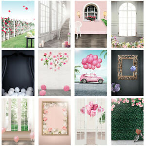 Pink Wall Wedding Background Photography Backdrop Party Home Decor Photo Props