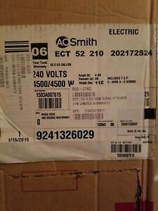 50 Gallon AO Smith Residential Electric Water Heater - 50 gallon New in box