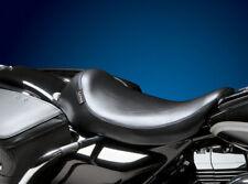 Harley Road King FLHR Solo Sitz Le Pera Silhouette schwarz glatt 02-07