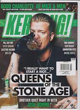 KERRANG! UK  MAGAZINE NOV 2017, QUEENS OF THE STONE AGE.