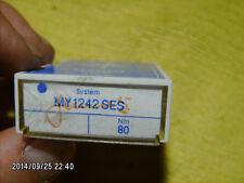 100 pc SCHMETZ sewing machine needles MY 1242 SES NM 80