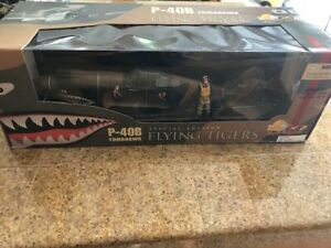 Ultimate Soldier MOTORWORKS P-40B TOMAHAWK FLYING TIGERS New in Box 1:18 Scale