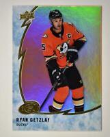 2019-20 ICE Orange Parallel #34 Ryan Getzlaf - Anaheim Ducks