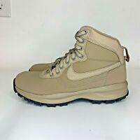 Nike Manoadome 844358-200 Khaki Dark Grey Hiking Trail Work Boots Men's Size 8