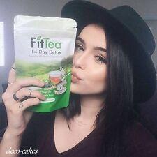 FIT TEA 14 Day Tea Detox, Promotes fat Burning, All Natural, NON GMO 5 days Sale