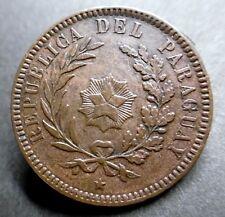 PARAGUAY - 2 CENTESIMOS 1870