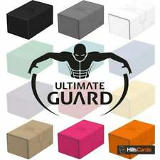 More details for ultimate guard twin flip n tray xenoskin 160+ deck box | choose colour card case