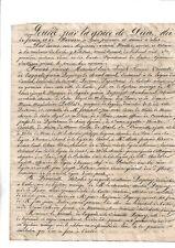 1818. Tarbes. Cantal. Gévaudan. Vicomte. Lagarde Guérin Despouyole Chambaunas.