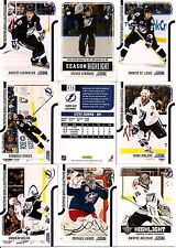 2011-12 Panini Score Glossy Tampa Bay Lightning Complete Master Team Set (19)