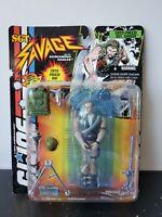 GI Joe action figure hasbro toy cobra 1994 Sgt Savage moc screaming eagles cryog