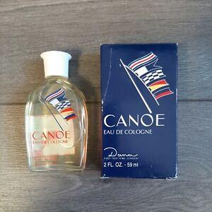 Canoe Eau De Cologne Splash On 2oz 59mL NIB
