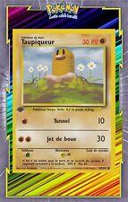 🌈Taupiqueur - Set de Base Edition 1 - 47/102 - Carte Pokemon Neuve Française