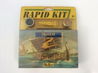 Heller Drakkar Rapid Kit - 17 Pieces - Scale : 1/180 - New