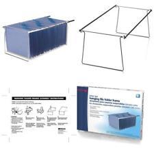 Hanging File Folder Frame 2 Pack Letter Size Desk Drawer Cabinet Files Organizer