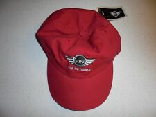 NEW MINI OF HAWAII RED CASUAL HAT - NWT