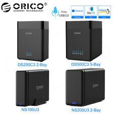 "ORICO USB 3.0 to 2.5""/3.5"" SATA 3.0 External SSD HDD Hard Drive Enclosure Case"
