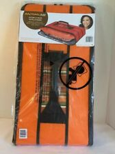 RACHAEL RAY STOW-A-WAY POTLUCKER THERMAL INSULATION CARRIER Orange / W Handle