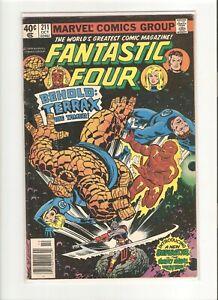 FANTASTIC FOUR (1961 1ST SERIES) #211 OCT 1979 MARVEL COMIC 8.0 VF