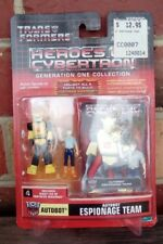 TRANSFORMERS HEROES OF CYBERTRON Bumblebee & Spike, AUTOBOT, Figures, MOSC