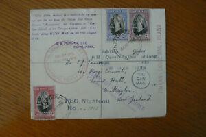 1939 TONGAN TIN CAN MAIL NIUAFOOU - NEW ZEALAND