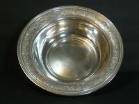 "International Sterling Silver Wedgwood Ornate Fruit/Centerpiece Bowl, 10"", Rare!"