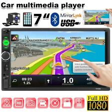 "7"" inch HD 2Din Touch Screen Car Stereo MP5 Player Radio IOS Android USB +Camera"