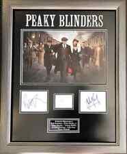 PEAKY BLINDERS  CILLIAN  MURPHY, PAUL  ANDERSON , HELEN  McCORY SIGNED AFTAL