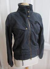 Coole Jacke von Nike Schwarz Street Wear Baumwolle Größe M 38 RAR