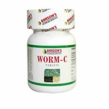 Bakson's Homoeopathy Worm-C for Deworming all types of Worms, Threadworms