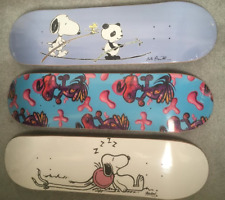 3 LIMITED EDITION SKATE DECK Andre Saraiva Mr A + Kenny Scharf + Rob Pruitt KAWS
