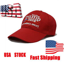 Trump 2020 Winner President Election Embroidered Cap Keep America Great Red Hat